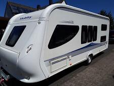 Wohnwagen Hobby La Vita 545 Kmf Mover KLIMA Brand Vorzelt TÜV neu