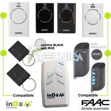 Telecomando compatibile FAAC 868 SLH XT2 XT4 787009 787010 T2 T4 faac TML2 TML 4