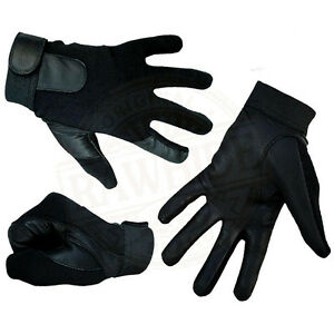 LEATHER GLOVES FOURWAY BACK IDEAL 4 DRIVING CYCLING RIDING SHOOTING WALKING OUT