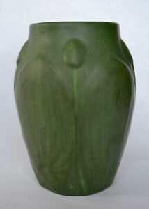 Exceptional Hampshire Pottery Vase