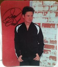 Donny Osmond - Personally Autographed Mouse Pad After 2005 Concert - Mint
