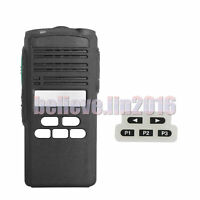 Black Replacement case Housing for Motorola CP185 Limited Key-pad Radio