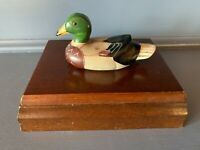 Vintage Mallard Duck Playing Cards 2  Card Decks In Wooden Box