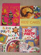4  KIDS CHILDRENS BIRTHDAY PARTY PARTIES RECIPES COOKBOOKS