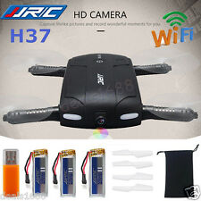 JJRC H37 HD Camera WIFI FPV RC Quadcopter Selfie Foldable Drone Gift + 3*Battery