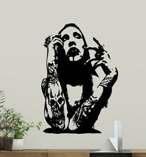 Marilyn Manson Wall Decal Rock Music Vinyl Sticker Art Decor Poster Mural 11sss