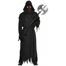 Grim Reaper Costume Adult Scary Death Halloween Fancy Dress