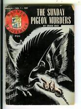 SUNDAY PIGEON MURDERS by Craig Rice, Banner #1 crime digest vintage pb