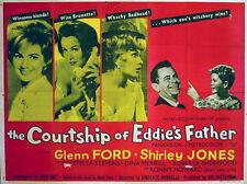 COURTSHIP OF EDDIE'S FATHER 1963 Glenn Ford, Shirley Jones, Stella Stevens QUAD