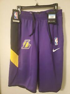Nike Therma Flex NBA LA Lakers Showtime Shorts, AV1085-504, Men's Size M-Tall
