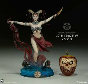 Court of the Dead PVC Statue Gethsemoni - Queens Conjuring 25 cm