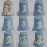 Vintage Wedgwood Thimble Jasperware Collectors Souvenir Commemorative 1980s