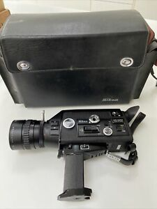 Nikon R10 Super 8 Cine Camera Rare Nikkor Case