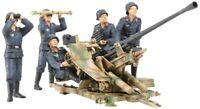 TAMIYA 1/35 German 3.7cm FlaK 37 Anti-Aircraft Gun w/Crew Model Kit NEW Japan
