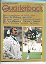 Don Shula OJ Simpson Pree Season Issue 1974 Pro Quarterback Magazine