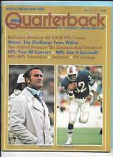 Don Shula OJ Simpson Pree Season Issue 1974 Pro Quarterback Magazine