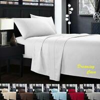 Hotel Luxury 1800 Count 4 Piece Deep Pocket Bed Sheet Set Hypoallergenic 5R