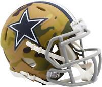 Riddell Dallas Cowboys Camo Alternate Revolution Speed Mini Football Helmet