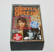 Glam & Glitter Best Of Gary Glitter & Suzi Quatro Cassette Tape JB590C Fatbox