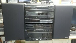 KENWOOD HiFi 5 pieces Stack system separates A-92 X-63 T-92L DP-520 P-42 LS-63