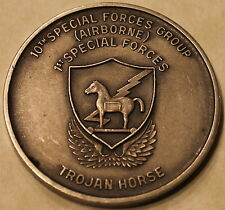 10th Sfg Airborne 1st Special Forces Regiment Engraved Army Challenge Coin Rare