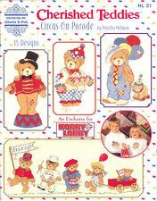 CHERISHED TEDDIES CROSS STITCH PATTERNS Crafts Book Teddy Bear