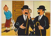 Carte Postale Tintin - Les aventures de Tiintin n°6 - Ed. YVON 1967