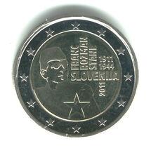 Slovenia 2011 - 2 Euro Comm - Franc Rosman Stane 1911 - 1944 (UNC)
