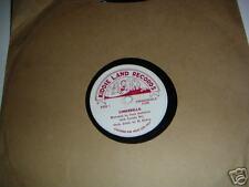 Kiddie Land Records CINDERELLA 78 RPM  50's