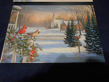 Lot Of 6 '' Christmas Memories'' Christmas Cards