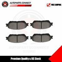 Front Premium Ceramic Disc Brake Pads For 2005-2006 Toyota Camry V6 3.0L