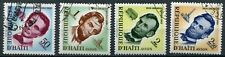 Haiti 572 - 575 gestempelt, 150. Geburtstag von Abraham Lincoln