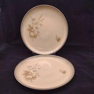 Denby Memories Dinner Plates x 2 10 inch 25.5 cm Diameter