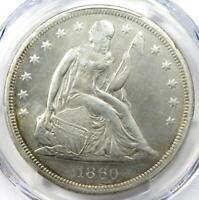 1860-O Seated Liberty Silver Dollar $1 - Certified PCGS VF Detail - Rare Coin!