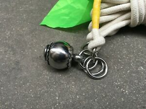 Kung Fu Training Soft Whip Meteor Hammer Fitness Practice Perform Equipment FN02