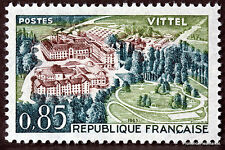 STAMP  TIMBRE FRANCE NEUF LUXE °° N° 1393 ** VITTEL