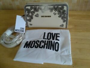 LOVE MOSCHINO Handbag with Shoulder Strap and Dust bag new with tags
