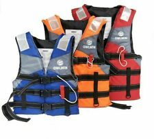 Adult Professional Outdoor Swimwear Life Jacket Drifting Water Sport Safety Vest
