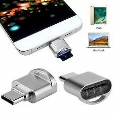 Micro SD Memory Card Reader USB C 3.1 Type C to USB 3.0 OTG HUB Adapter