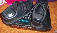 Sole Defense Silver Lined Footwear  by Ecor  Women/Ladies  size 8 1/2 XW BLACK