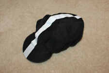 Rapha Cycling Cap Black with White Stripe - Large - NICE!!