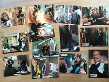 THE LIVING DEAD AT MANCHESTER MORGUE - 13 scarce German lobby cards - Zombi