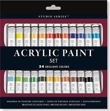 Studio Series Acrylic Paint Set (24 colors)