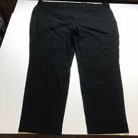 Avenue Super Stretch Pull On Black Skinny Pants Plus Size 28 A1468