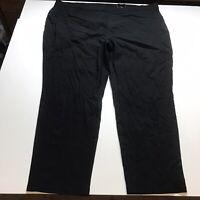 Avenue Super Stretch Pull On Black Skinny Pants Plus Size 28 A1468