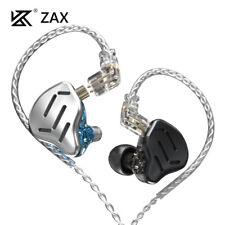 KZ ZAX 16 Units InEar Monitor Hybrid Technology Noise Canceling Earbuds Earphone