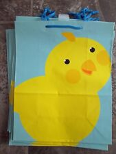 Easter gift bags ebay new lot 7 hallmark large easter gift bags baby chick chicken egg hunt paper negle Images