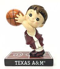 Zoe's Basketball Boy Texas A&M University Figurine Gift Aggies #12 College New