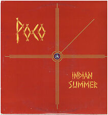 POCO - Indian Summer -Original 1977 USA 9-track vinyl LP with lyric inner sleeve