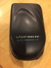 WHISTLER SUPERWIDEBAND 2.6 LASER RADAR DETECTOR MODEL 1080 Sw. No Wire